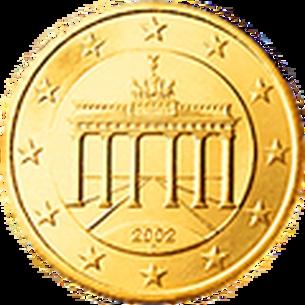 Cent Mdm Deutsche Münze