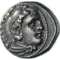 Drachme Alexanders des Großen