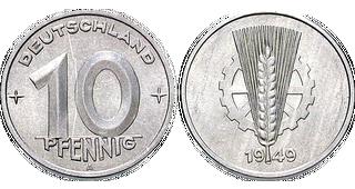 Münzmetall Aluminium Mdm Deutsche Münze