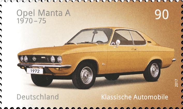 Klassische deutsche Automobile Opel Manta A