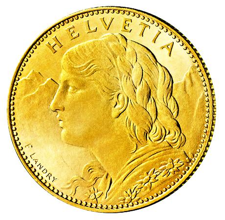 Der Schweizer Franken Mdm Deutsche Münze