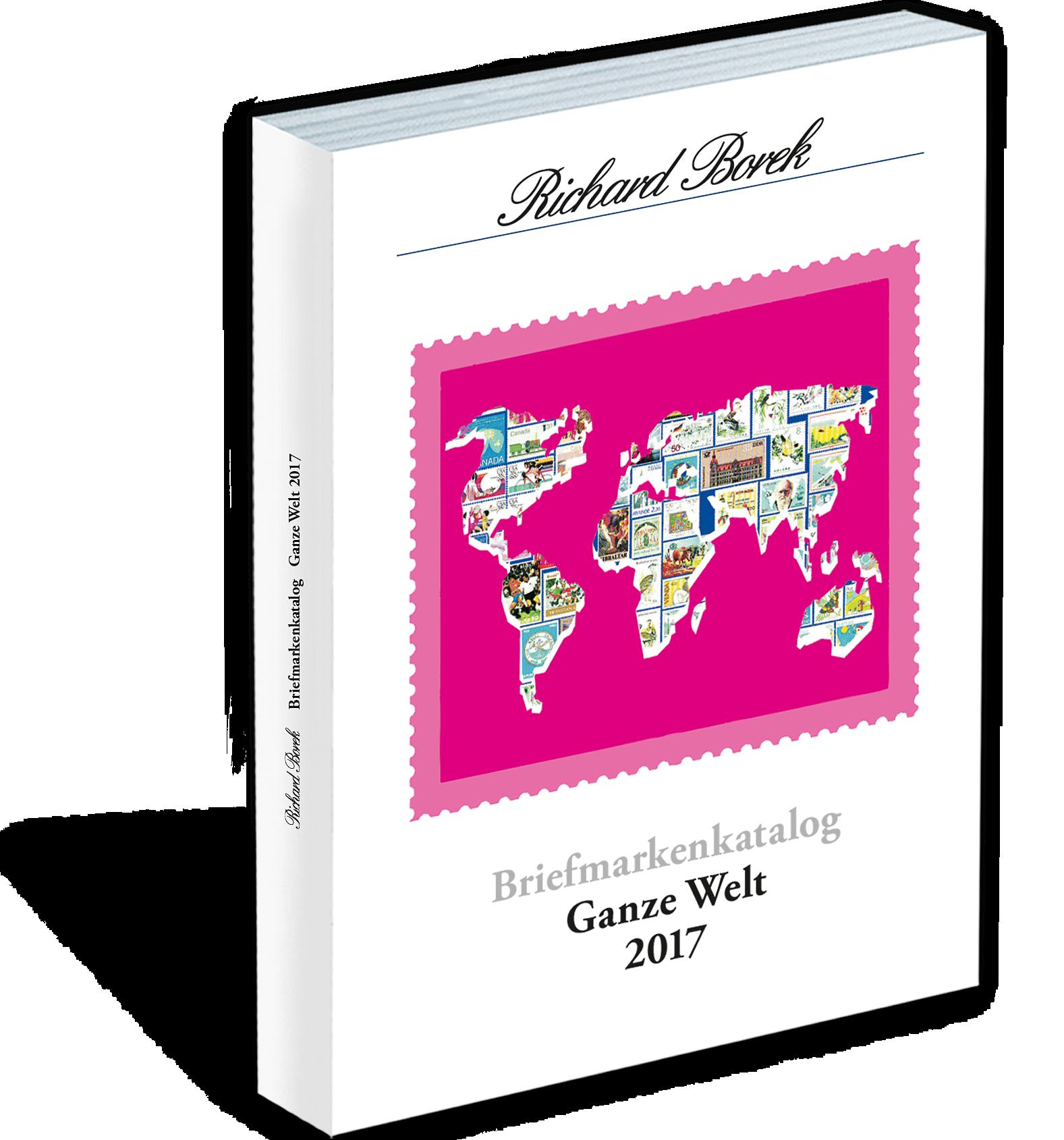 Briefmarkenkatalog der Firma Richard Borek