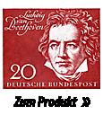 Briefmarke Beethoven