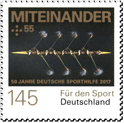 """Dauerserie """"50 Jahre Deutsche Sporthilfe"""" Miteinander"""
