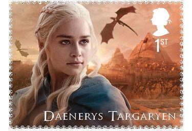 Game of Thrones Briefmarke Daenerys Targaryen