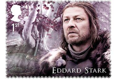 Game of Thrones Briefmarke Eddard Stark