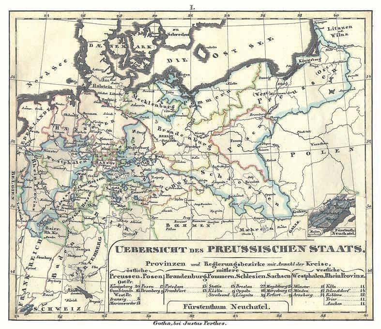 Übersicht des Preussischen Staats