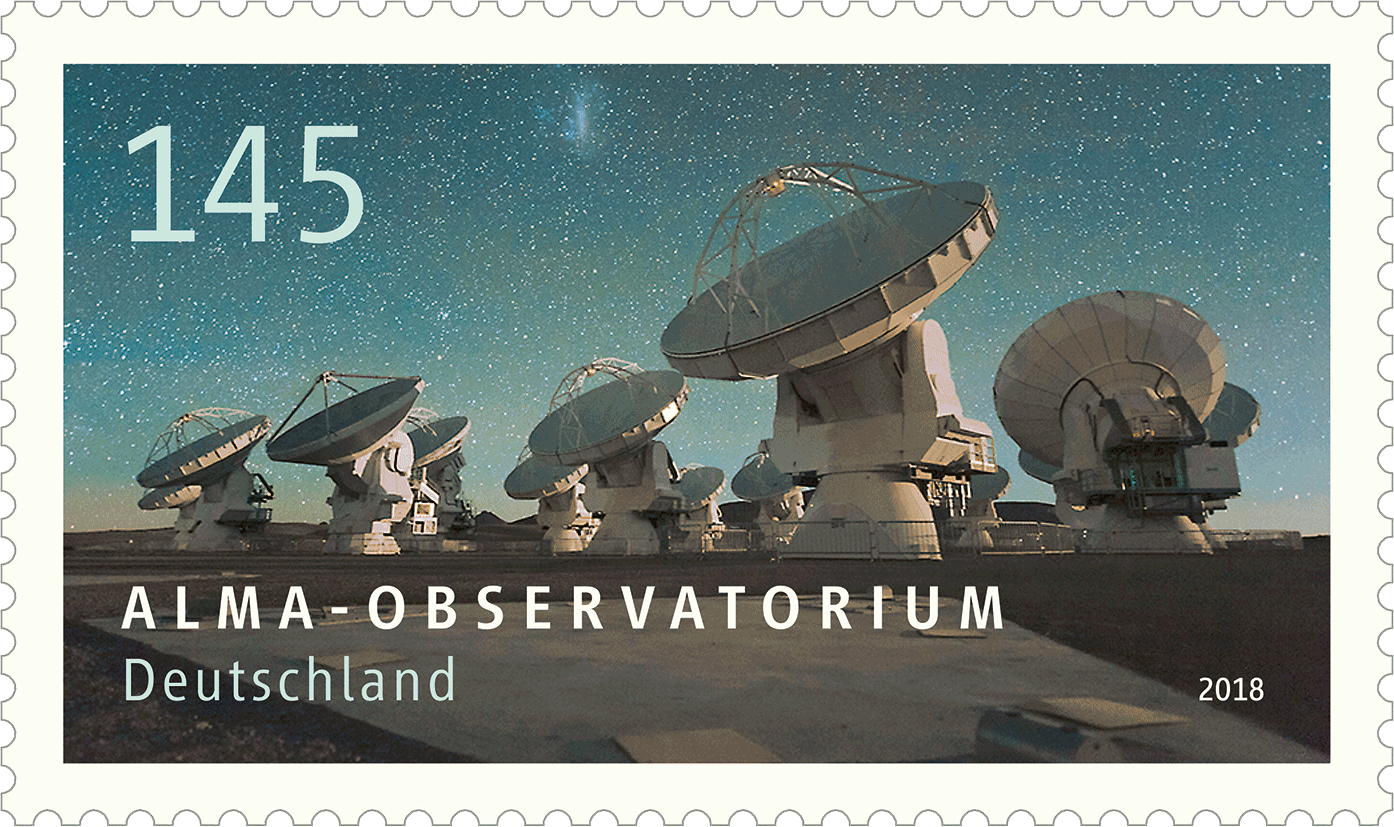 Briefmarkenserie Astrophysik