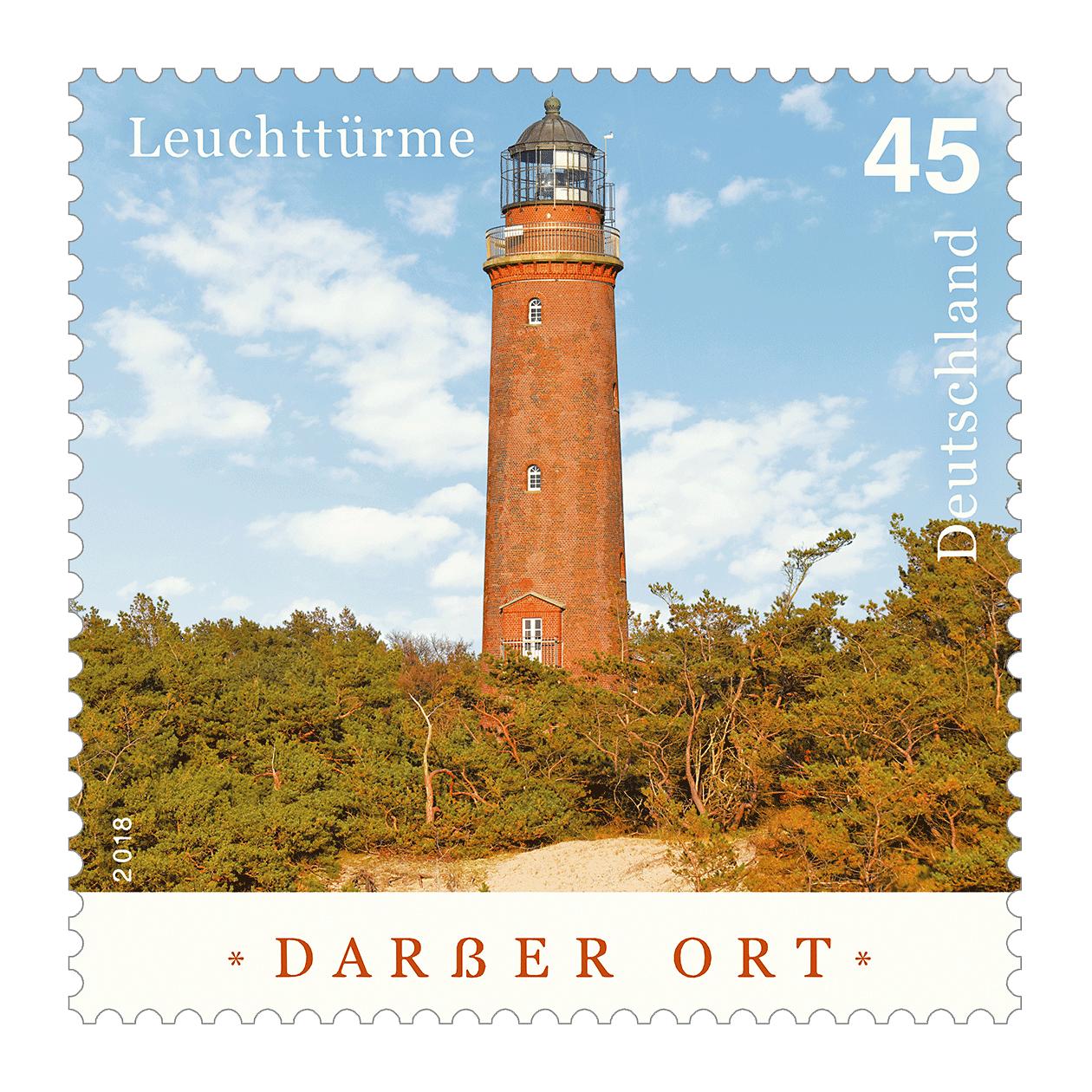 Briefmarkenserie Leuchttürme: Darßer Ort