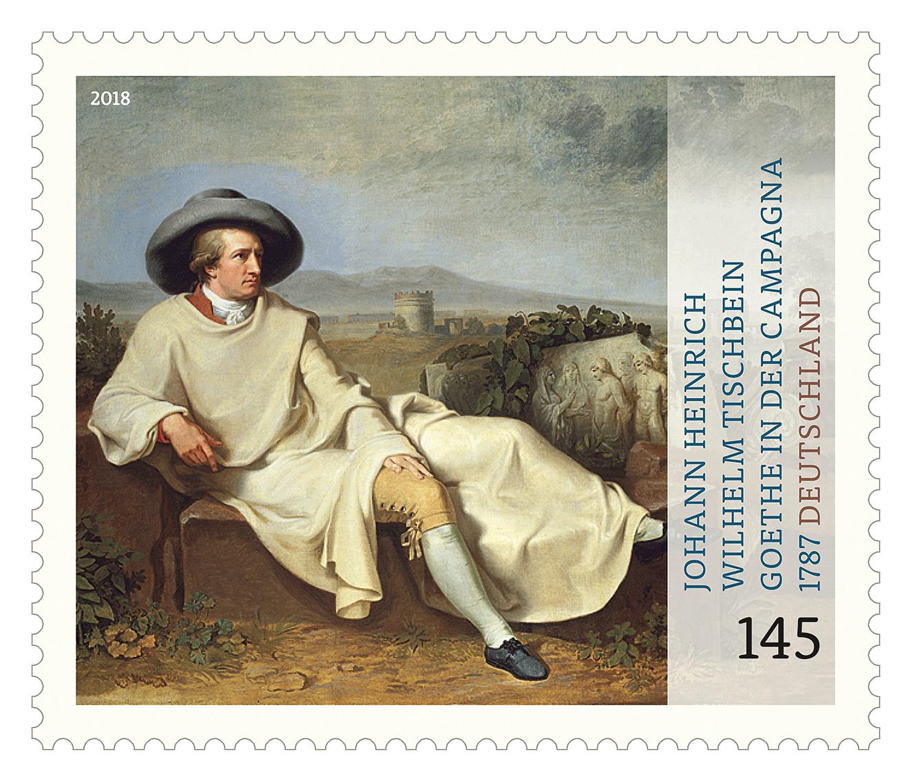 Briefmarkenserie Schätze aus deutschen Museen