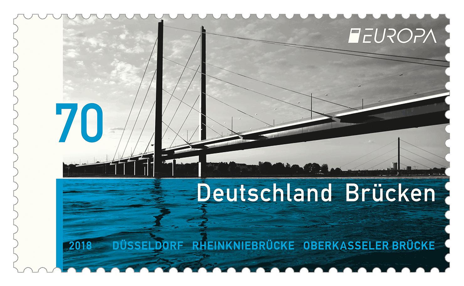Briefmarkenserie Europa: Brücken