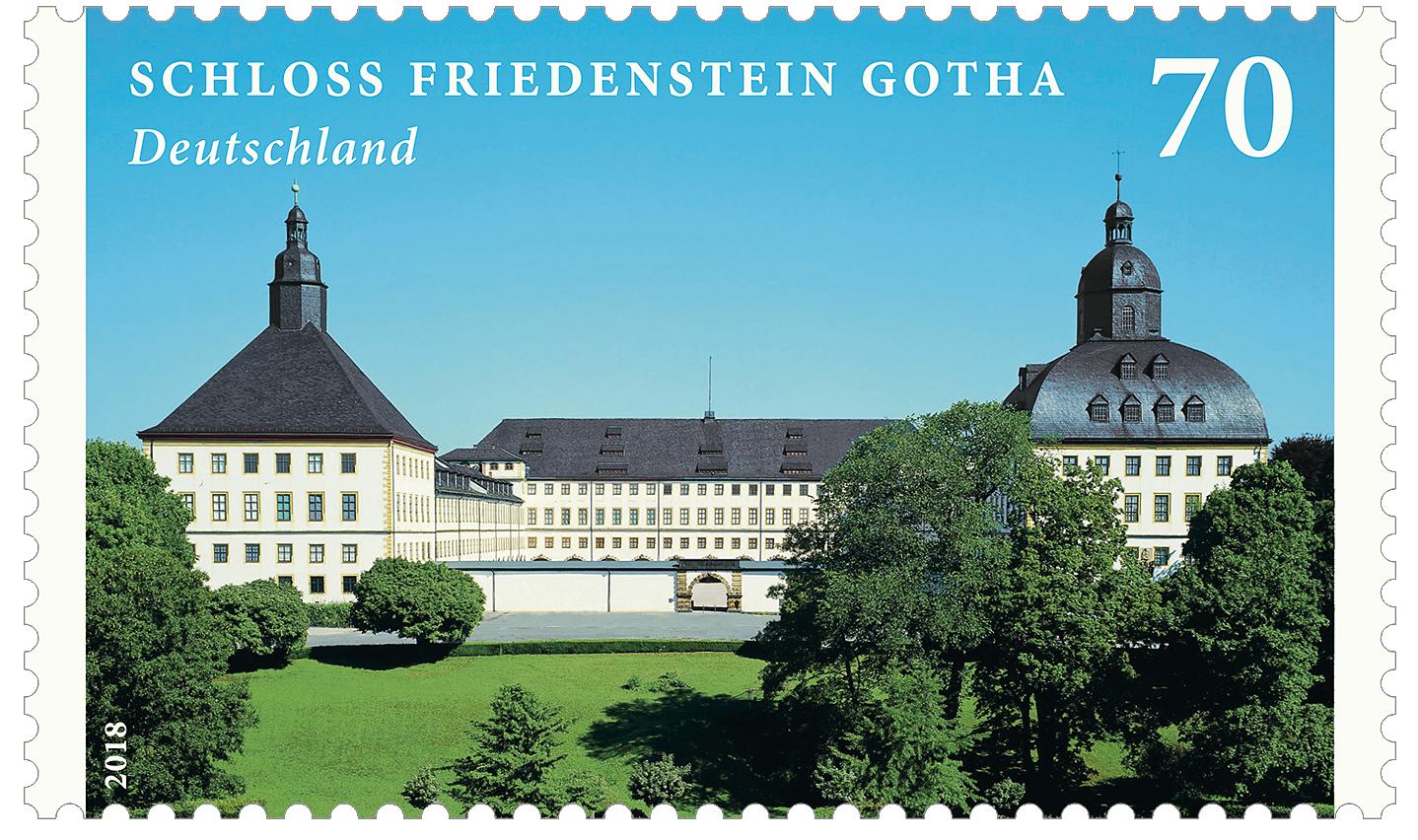 Briefmarke Schloss Gotha