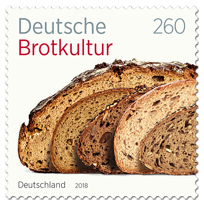 Briefmarke Deutsche Brotkultur