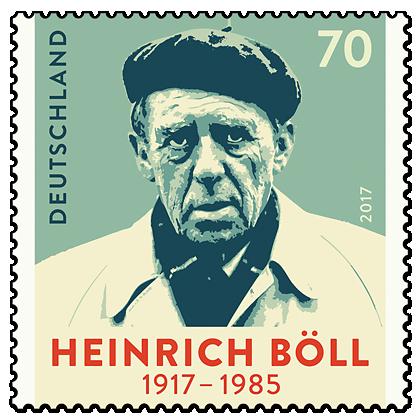 Briefmarke 100. Geburtstag von Heinrich Böll