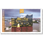 Briefmarke Elbphilharmonie