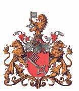 Das Wappen der Freien Hansestadt Bremen im Deutschen Reich