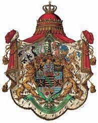 Großes Wappen des Königreichs Sachsen bis 1918