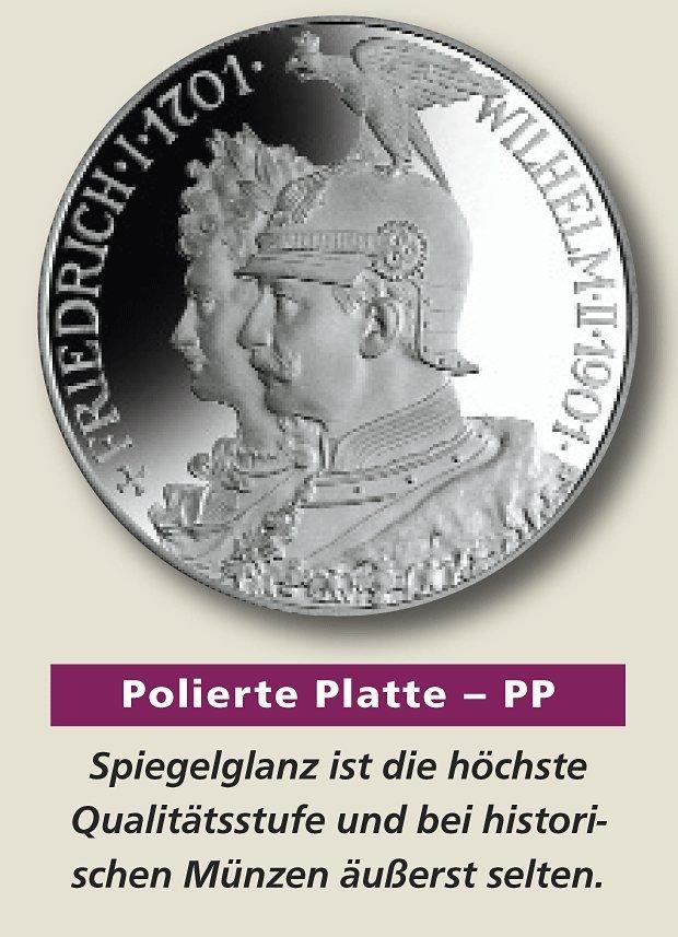 Polierte Platte Pp Die Höchste Prägequalität Mdm Deutsche Münze