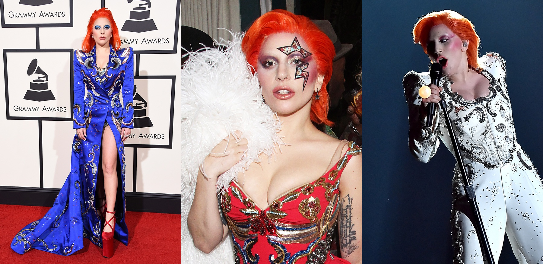 Lady Gaga at the Grammys - Marc Jacobs