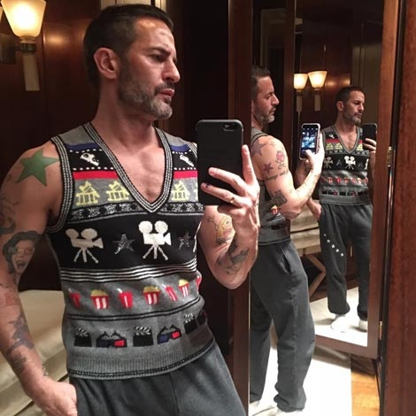 Marc Jacobs in Theater Vest
