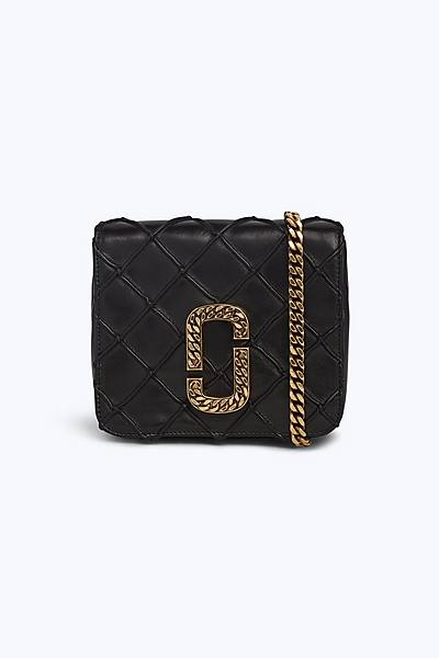 마크 제이콥스 퀼팅 벨트백 - 블랙 Marc Jacobs The Quilted Belt Bag,BLACK