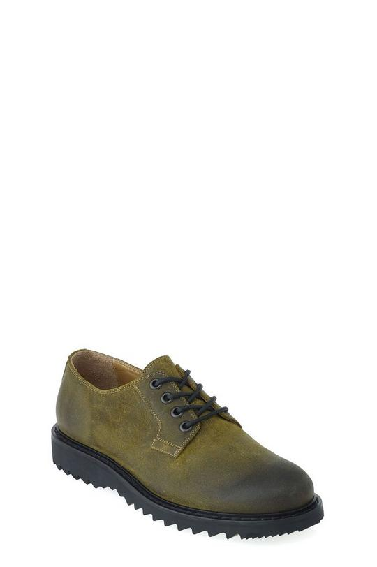 Oily Suede Low Lace Up