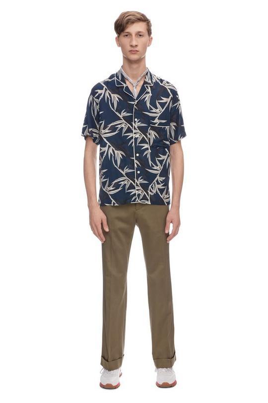 Shadow Leaf Short Sleeve Shirt