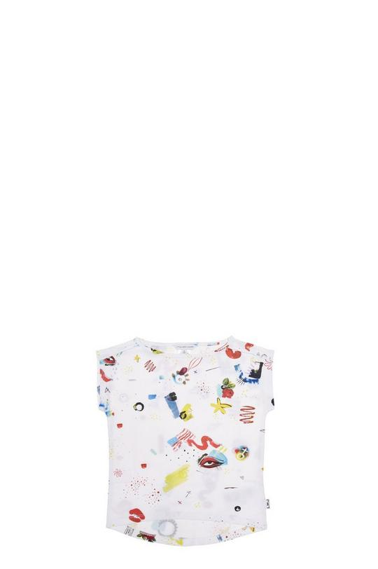 Collage Print Jersey Tee Shirt