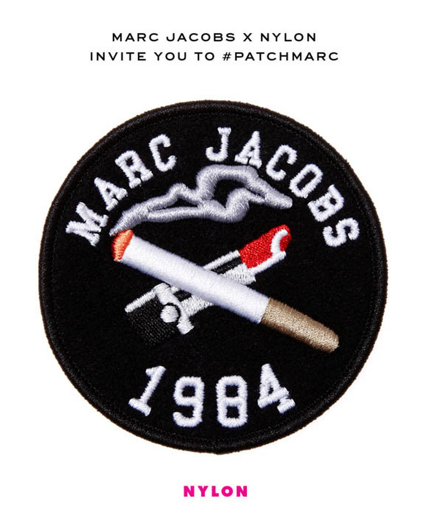 Marc Jacobs x NYLON invite you to #PatchMarc