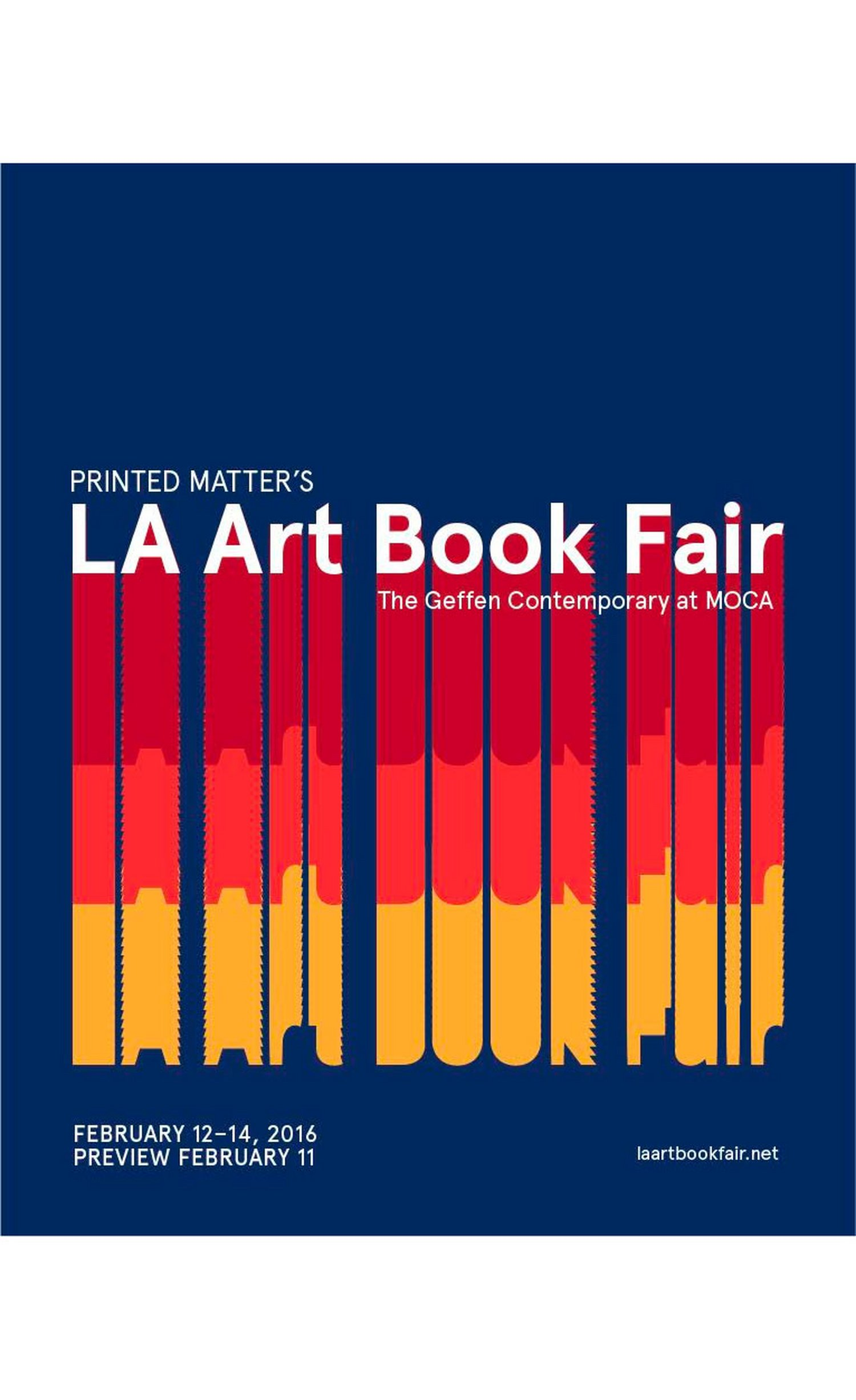 Visit the Bookmarc Booth at the LA Art Book Fair!