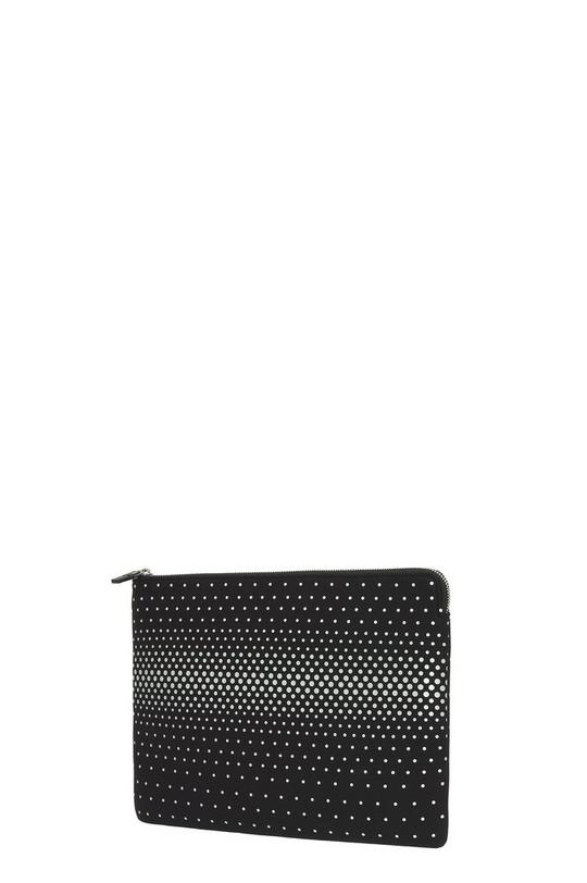 "Neoprene Printed Dégradé Studs 13"" Zip Cutout Case"