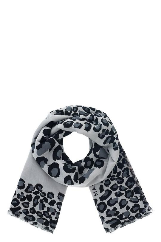 Painted Leopard Scarf