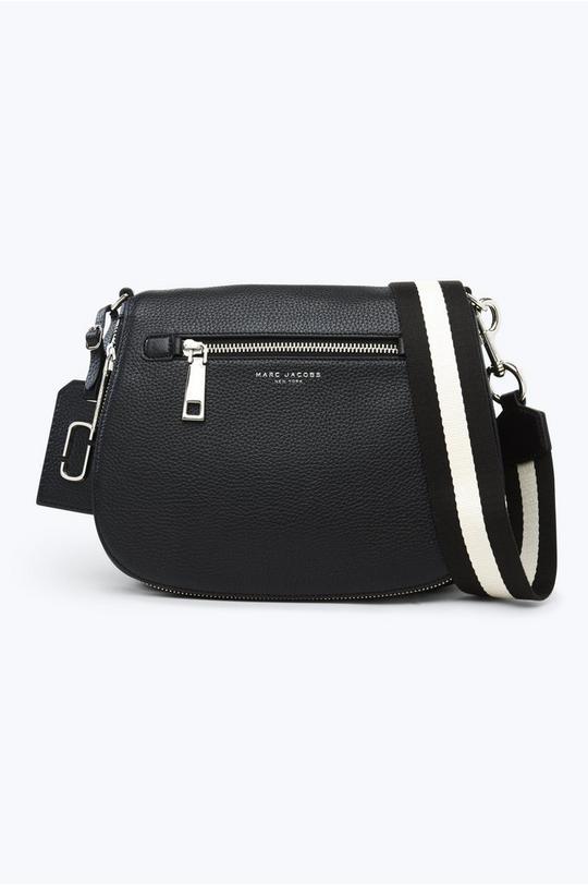 Gotham Leather Saddle Bag