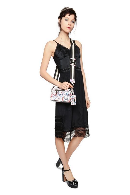 Splatter Paint Crossbody Bag