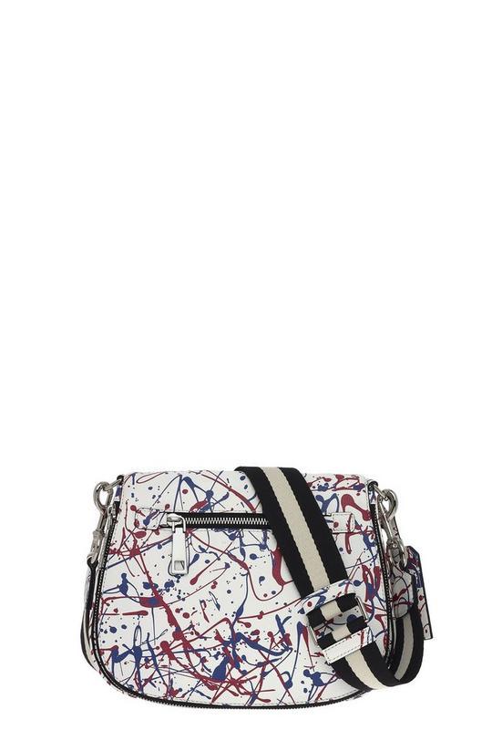Splatter Paint Saddle Bag