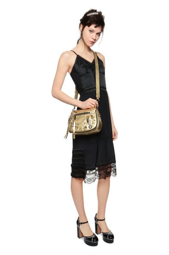 Charms and Trinkets Small Saddle Bag
