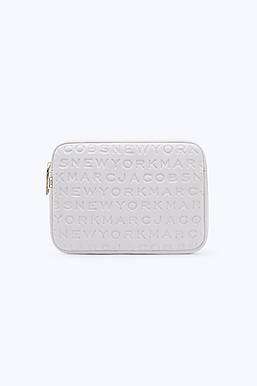 마크 제이콥스 로고 네오프렌 태블릿 케이스 라이트 그레이 Marc By Marc Jacobs Logo Neoprene Tablet Case