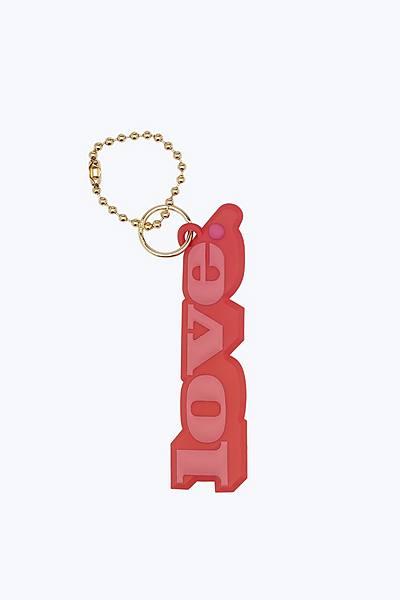 마크 제이콥스 러브 가방 참 Marc Jacobs Love Bag Charm,POPPY RED MULTI