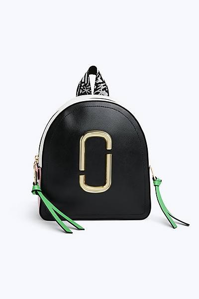 마크 제이콥스 Marc Jacobs Pack Shot Backpack,BLACK/BABY PINK