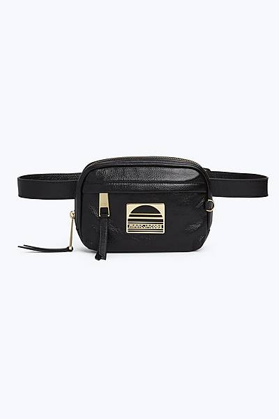 마크 바이 마크 제이콥스 Marc By Marc Jacobs Leather Sport Belt Bag,BLACK
