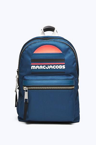 마크 제이콥스 Marc Jacobs Trek Pack Sport Logo Medium Backpack,TEAL