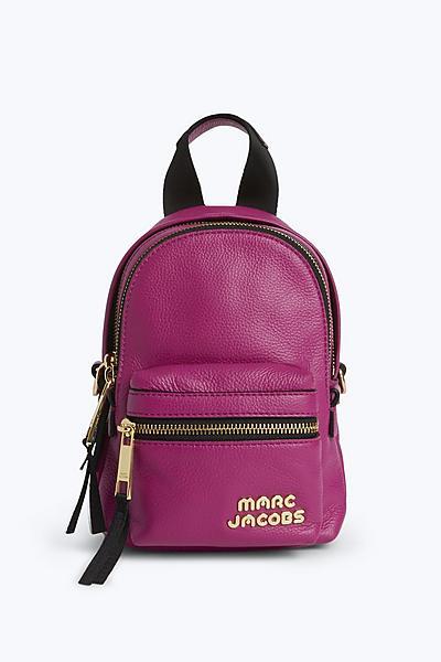 마크제이콥스 트랙팩 미니 마젠타 Marc By Marc Jacobs Trek Pack Leather Mini Backpack,MAGENTA
