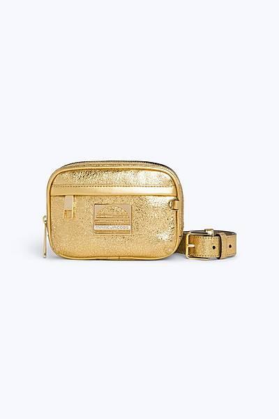 마크 바이 마크 제이콥스 Marc By Marc Jacobs Leather Sport Belt Bag,GOLD
