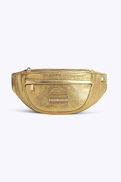 마크 바이 마크 제이콥스 Marc By Marc Jacobs The Sport Leather Fanny Pack,GOLD