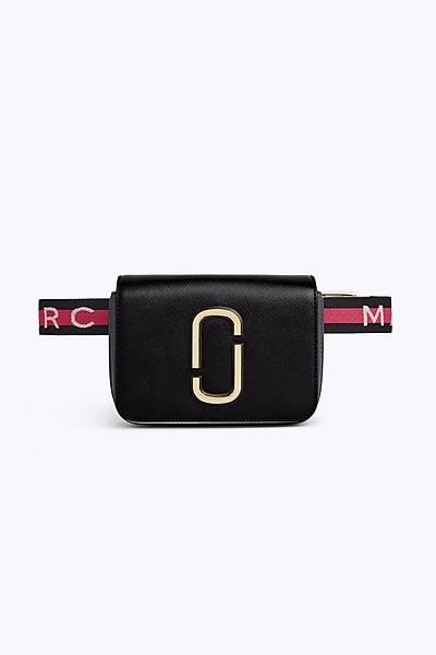 마크 바이 마크 제이콥스 로고 스트랩 벨트백 Marc By Marc Jacobs Logo Strap Hip Shot Bag,BLACK MULTI