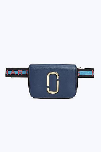 마크 바이 마크 제이콥스 Marc By Marc Jacobs Logo Strap Hip Shot Bag,BLUE SEA MULTI
