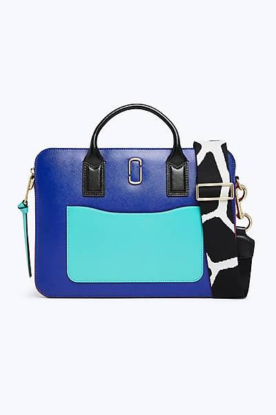마크 제이콥스 스냅샷 커뮤터 15인치 랩탑백, 맥북 가방 - 블루 Marc By Marc Jacobs Snapshot Commuter 15