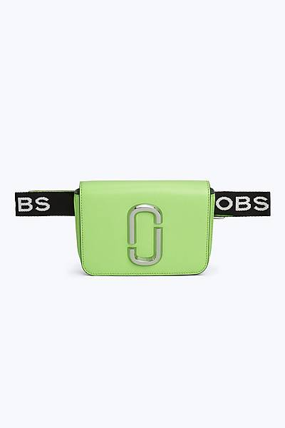 마크 바이 마크 제이콥스 Marc By Marc Jacobs Fluorescent Hip Shot Bag,BRIGHT GREEN