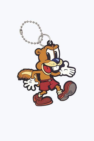 마크 제이콥스 가방 장식 Marc Jacobs Squirrelly the Squirrel Bag Charm,ORANGE MULTI