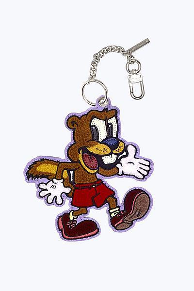마크 제이콥스 가방 장식 Marc Jacobs Squirrelly the Squirrel Chenille Bag Charm,ORANGE MULTI